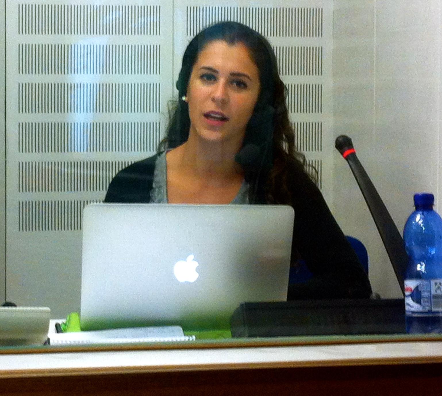 Alessandra Vita interpreter translator