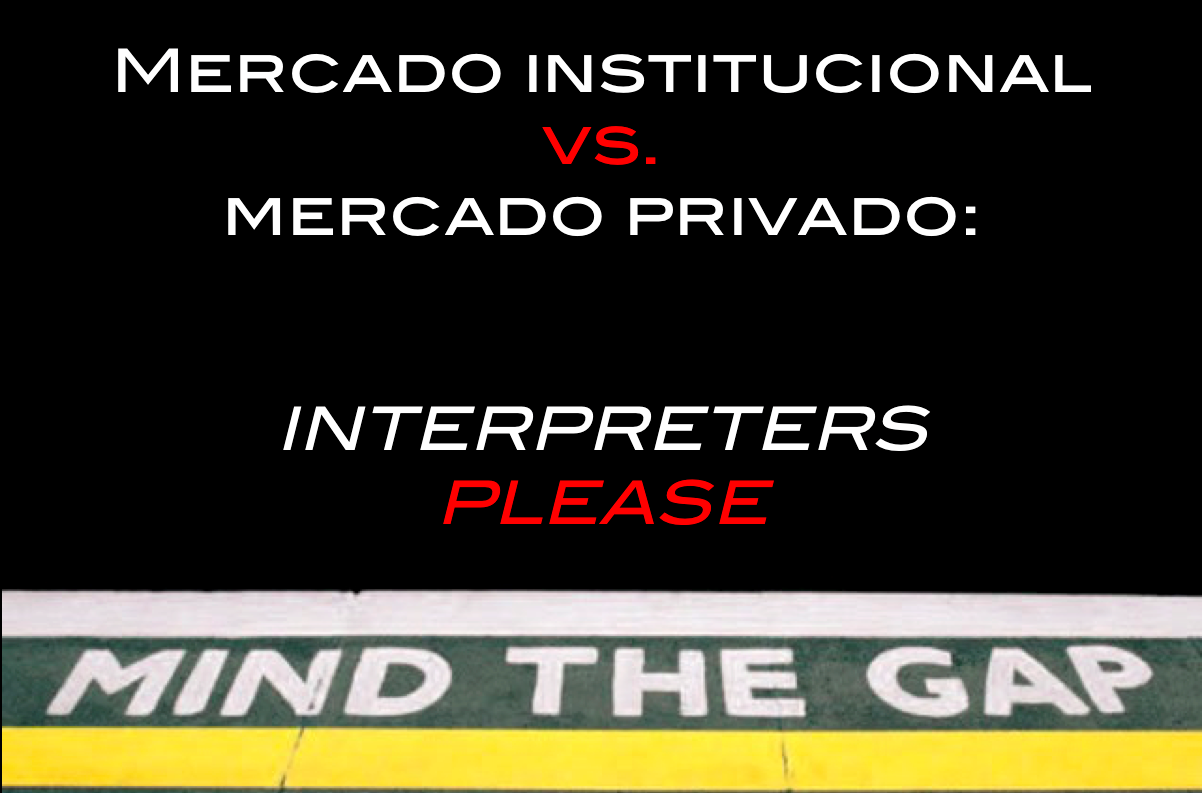 retour mercado privado institucional interpretación
